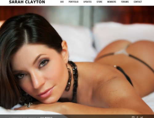 Sarah Clayton's Website Is Live!